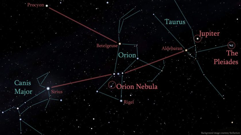 canis major-orion
