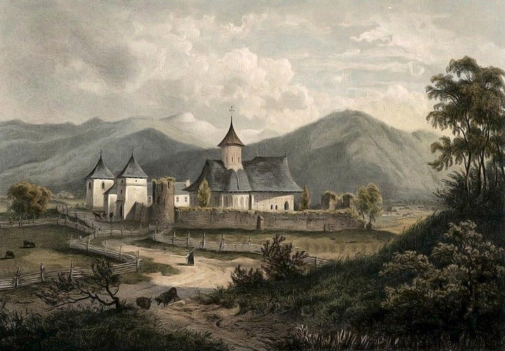 Putna-mănăstirea-în-1860-–-acuarelă-de-Franz-Xaver-Knapp-1809-1883-1024x711